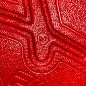 Fila Shoes - NWT Fila red slides